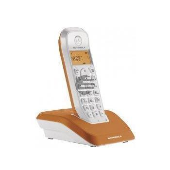 Motorola STARTAC S1201 DECT Schnurlostelefon, orange