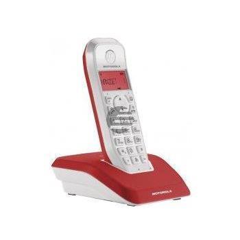 Motorola STARTAC S1201 DECT Schnurlostelefon, rot