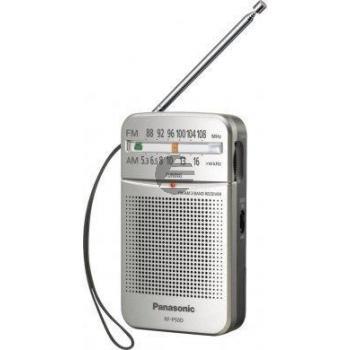 Panasonic RF-P50DEG-S Taschenradio silber