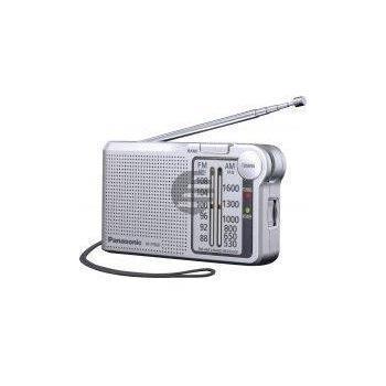 Panasonic RF-P150DEG9-S tragbares Radio silber