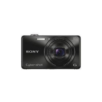 Sony DSC-WX220B Kompaktkamera mit optischem 10-fach-Zoom, schwarz