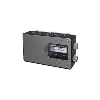 Panasonic RF-D10EG-K DAB+ Digitalradio, schwarz