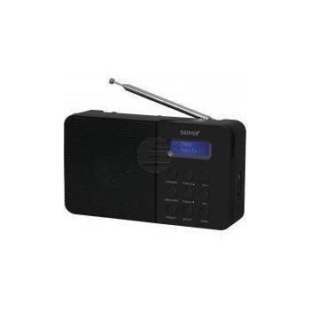 Denver DAB-33 Radio mit DAB+/FM schwarz