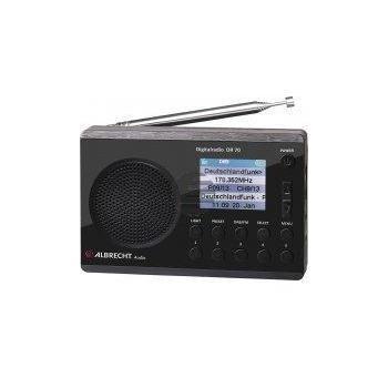 Albrecht DR 70 Digitalradio, Farbdisplay, 230 V und Batteriebetrieb