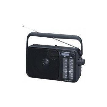 Panasonic RF-2400DEG-K, tragbares Radio, schwarz