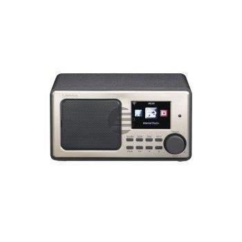 Lenco DIR-100 Internetradio, schwarz