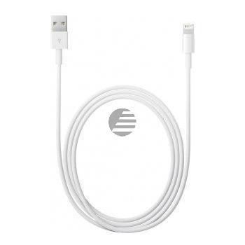 Apple Lightning auf USB Kabel (2,0 m) - BULK -