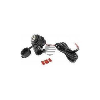 Albrecht Duo USB Steckdose, Motorrad, 12 Volt