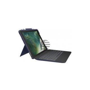 Logitech Slim Combo Case für iPad Pro 10,5'', blau