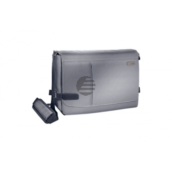 LEITZ Messenger Bag Complete 60190084 Silber grau 15.6 Zoll