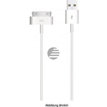Apple 30-polig auf USB Ladekabel