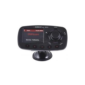 Albrecht DR 57 DAB+ Autoradio-Adapter mit Bluetooth, schwarz