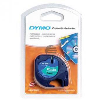 Dymo Schriftbandkassette 12mm grün (S0721640)