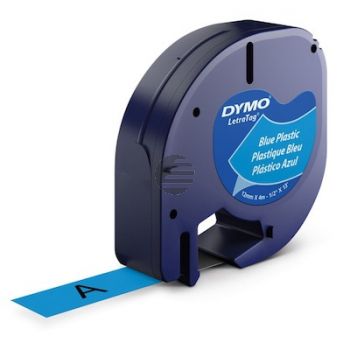 Dymo Schriftbandkassette 12mm blau (S0721650)