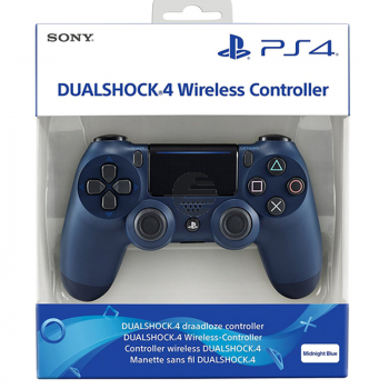 Sony Playstation 4 PS4 Dualshock Wireless Controller V2 - Midnight Blue