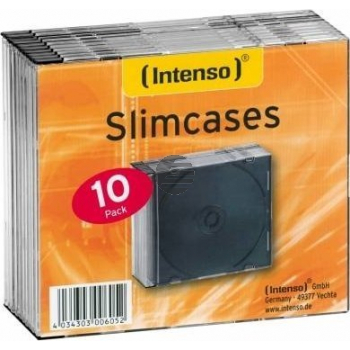 INTENSO SLIM CASE LEERHUELLEN (10) 9001602 transparent