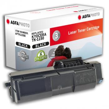 Agfaphoto Toner-Kartusche schwarz (APTK1150E) ersetzt TK-1150