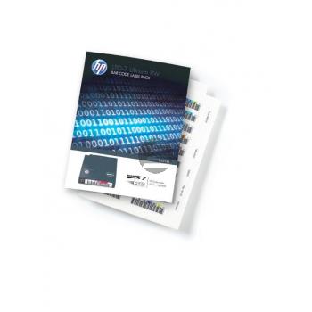 Q2014A HP BARCODE-ETIKETTEN LTO7 100Etiketten LTO7+10Etiketten Reinigung