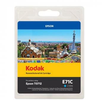 Kodak Tintenpatrone cyan (185E007102, E71C) ersetzt T0712