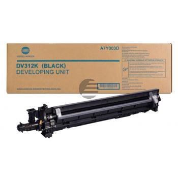 Konica Minolta Entwicklereinheit schwarz (A9K703D, DV-712K)