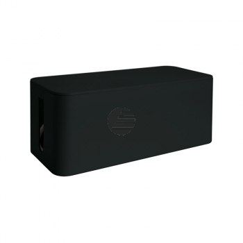MEDIARANGE KABELBOX GROSS 405x133x155mm MRCS308 schwarz