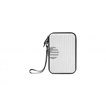 MEDIARANGE FESTPLATTENTASCHE WEISS BOX996 fuer 2.5 externe Laufwerke