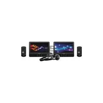 Lenco DVP-938, 2 x 9'' Portable DVD-Player