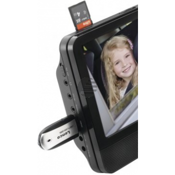 Lenco DVP-939, 2 x 9'' Portable DVD-Player