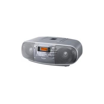 Panasonic RX-D50AEG-S CD-Radiorecorder, silber