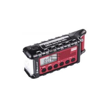 Albrecht ER 300, UKW Outdoor-Radio mit Handkurbel und Solarmodul