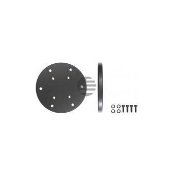 Brodit Befestigungsplatte rund (Durchmesser 10 mm, Höhe 9 mm)