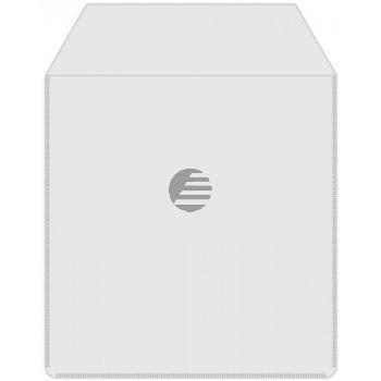 MEDIARANGE CD PLASTIKHUELLEN (50) KLAR BOX164 mit Lasche + klebende R?ckseite