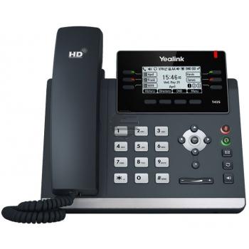 Yealink Skype4B T42S IP-Telefon, ohne Netzteil, PoE
