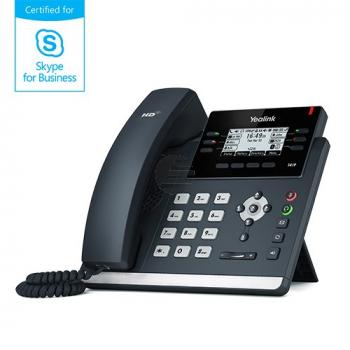 Yealink Skype4B T41S IP-Telefon, ohne Netzteil, PoE