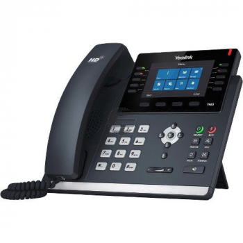 Yealink Skype4B T46S IP-Telefon, ohne Netzteil, PoE