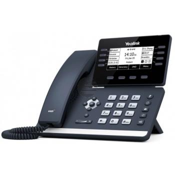 Yealink SIP-T53, VoIP-Telefon (SIP), ohne Netzteil, PoE