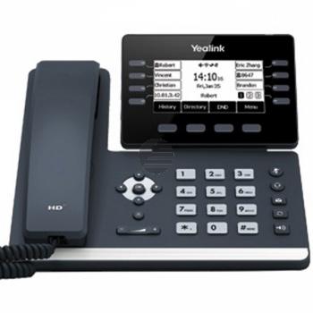 Yealink SIP-T53W, VoIP-Telefon (SIP), ohne Netzteil, PoE