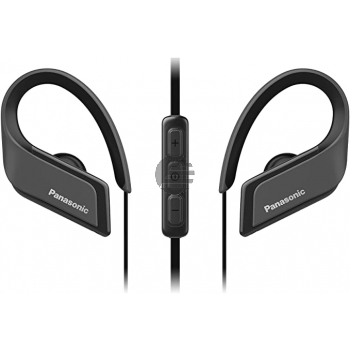 Panasonic RP-BTS35E-K Bluetooth In-Ear Sport-Kopfhörer, schwarz