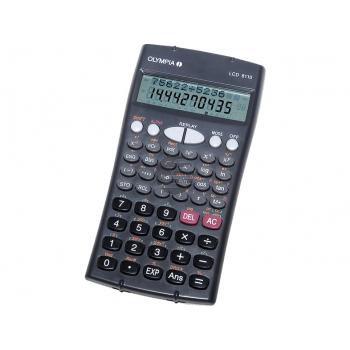 Olympia Taschenrechner LCD 8110 10/12-stellig 2-zeilig (40618)