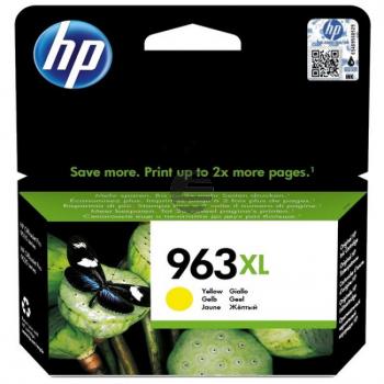 HP Tintenpatrone gelb HC (3JA29AE#BGX, 963XL)