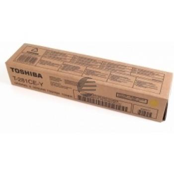 Toshiba Toner-Kit gelb (6AK00000843, T-281CEY)