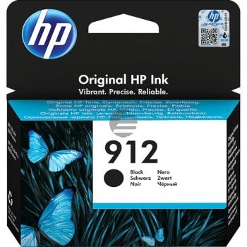 HP Tintenpatrone schwarz (3YL80AE#BGX, 912)