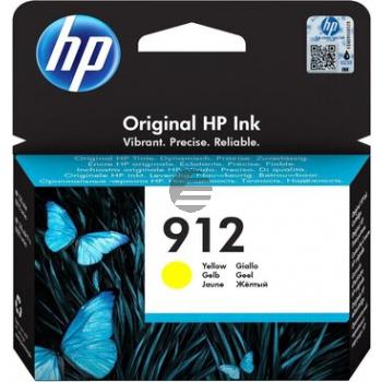 HP Tintenpatrone gelb (3YL79AE#BGX, 912)