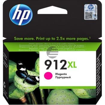 HP Tintenpatrone magenta HC (3YL82AE#BGX, 912XL)