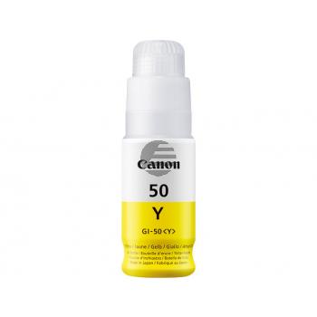Canon Tintennachfüllfläschchen gelb (3405C001, GI-50Y)