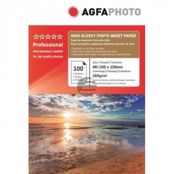 AP260100A6S AP TINTENSTRAHL-FOTOP. 10X15 100Blatt 260gr satiniert Karton Verpack.