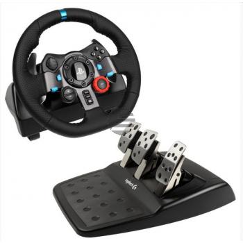 Logitech Lenkrad/Pedale G29: PS3/PS4 (941-000113)