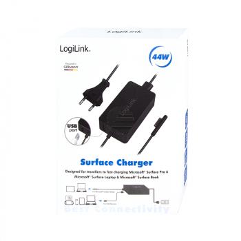 LogiLink Surface Laptop Ladegerät