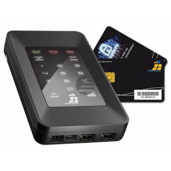DIGITTRADE SSD FESTPLATTE EXTERN 250GB DG-HS256S-250SSD USB 2.0 hohe Sicherheit