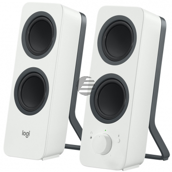LOGITECH Z207 Bluetooth Computer Speakers - OFF WHITE - EMEA (UK)